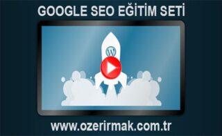 Google SEO Eğitim Seti Bannerı