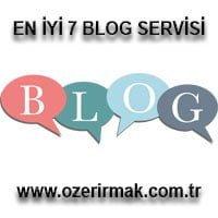En İyi 7 Blog Servisi