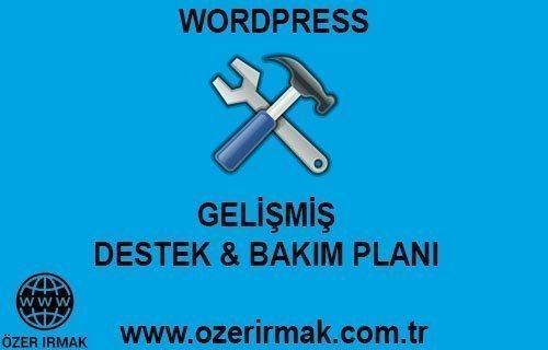 Wordpress Gelişmiş Destek Bakım Planı
